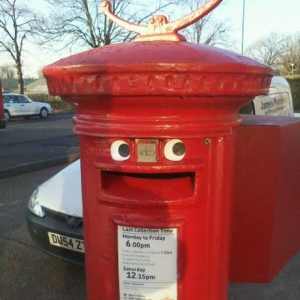 Happy Postbox