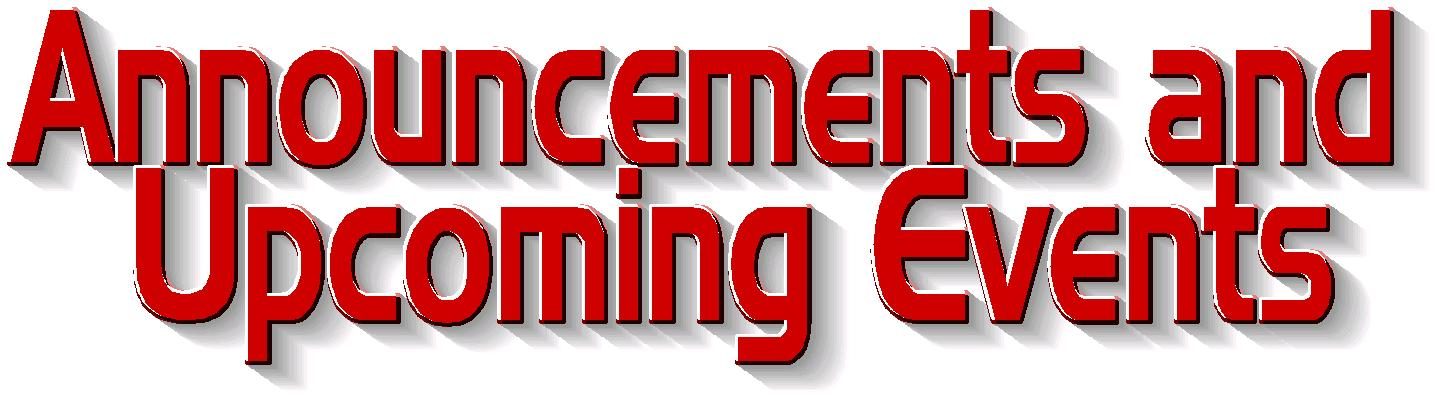 Image result for ANNOUNCEMENTS CLIP ART